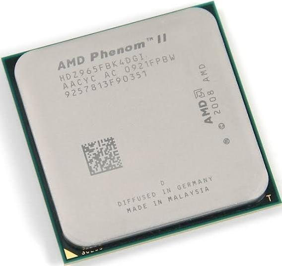 Phenom Ii X4 965 Black Edition 3.4ghz Am2/am3