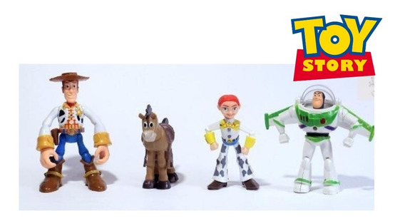 Bonecos Toy Story Woody Buzz Lightyear Jessie Disney