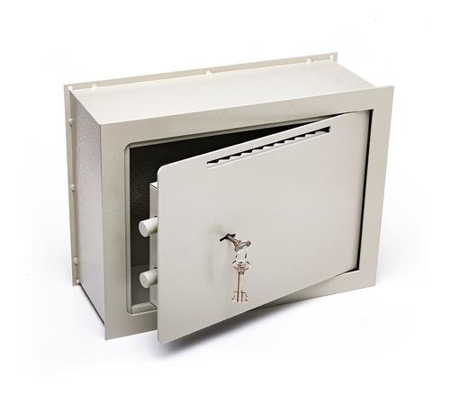 Caja Fuerte 30x40x15 De Embutir Buzon Pared Amurar E4 C/b