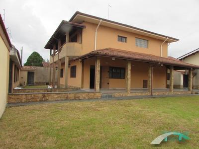 Sobrado Lado Linha Em 2 Lotes - 5 Dormitórios - Jd. Ribamar - Peruíbe/sp - Ca00431 - 33764741