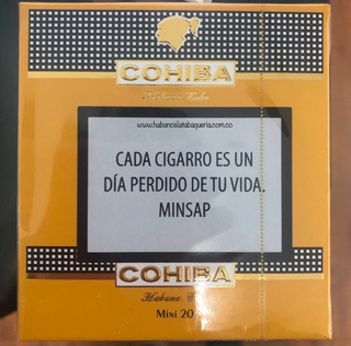 Habanos Cohiba Mini Cajetilla Por 20 Unidades Originales