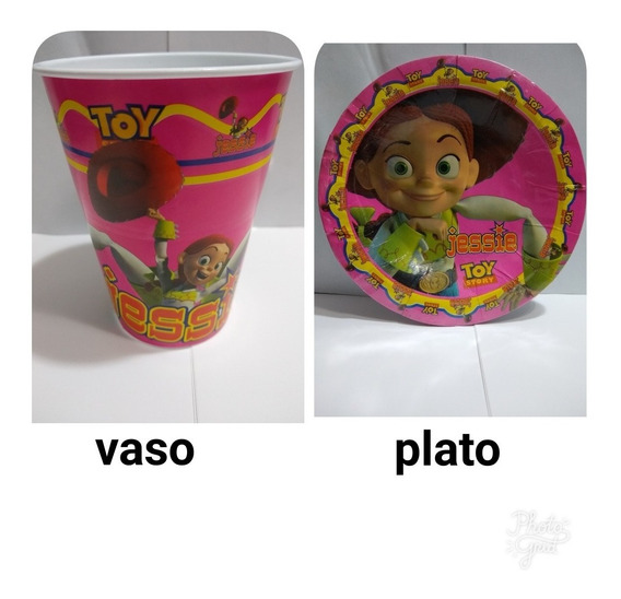 Jessie Toy Story Fiesta Paquete Artículos Set Niñas Kit Tema
