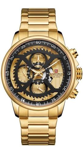 Relógio Masculino Naviforce 9150 Desportivo Cronógrafo