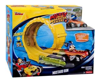 Mickey Mouse Salto Acrobatico Incluye Auto Fisher Price