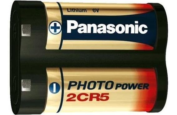 Bateria Pilha Panasonic 2cr5 6v Para Cameras Digitais