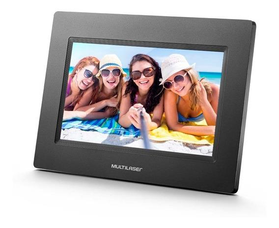 Porta Retrato Digital 7 Polegadas Sp260 Multilaser