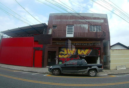 Salão Comercial Para Locação Na Avenida Queirós Filho, Próximo Ao Shopping Atrium - Vila Homero Thon - Santo André/sp - Sl0066