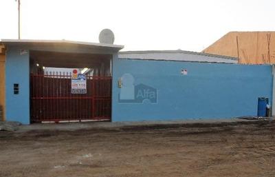 Terreno Con Casa Movil En Venta, Playas De Chapultepec