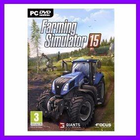 Farming Simulator 15 Pc Em Pt-br + Todas Dlcs