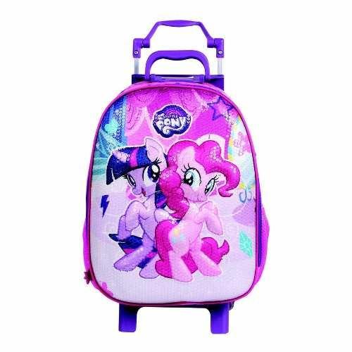 Mochila Escolar Rodinhas Infantil My Little Pony - Dermiwil