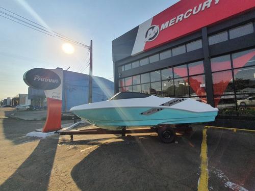 Imagem 1 de 15 de Lancha Focker 188 Joy Motor Mercury 100 Hp 4 Tempos Ct 2021