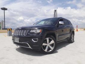 Jeep Grand Cherokee 2014 Limited Lujo Piel Quemacocos Gps