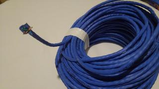 Cable Utp Cat 5e Ez Azul Draka X30mts