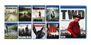 The Walking Dead Paquete Temporada 1 2 3 4 5 6 7 8 9 Blu-ray