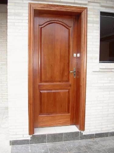 Puertas Exteriores De Madera Acabadas E Instaladas S./ 799