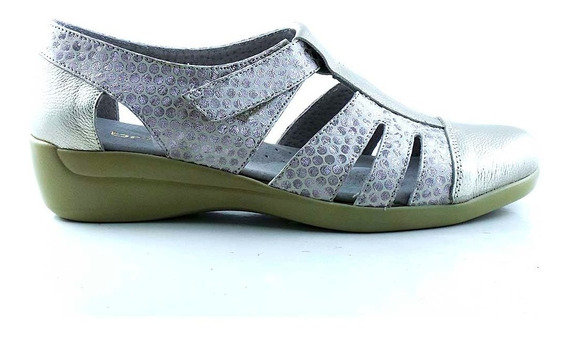 Zapatilla Mujer Cuero Briganti Zapato Confort - Mczp05253 Ph