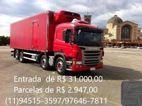 Scania P310 Baú Ibiporã Refrigerado T 1000