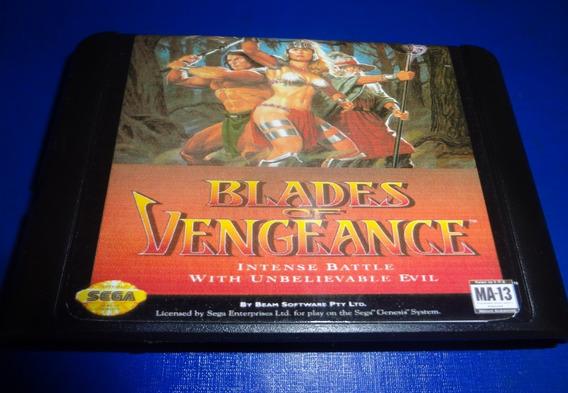 Blades Of Vengeance Mega Drive (paralelo Novo)