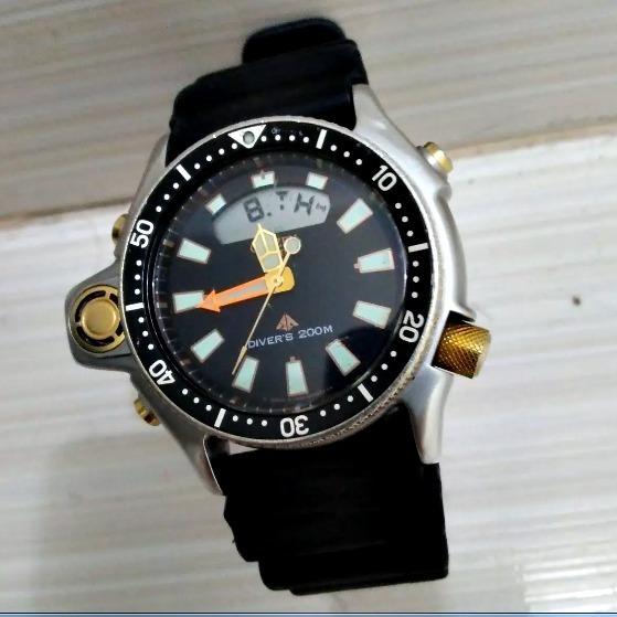Citizen Aqualand Jp2004 Série Ouro -relançamento-
