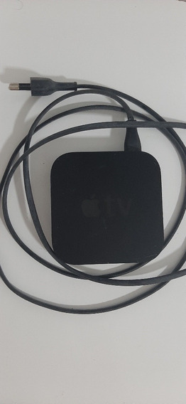 Apple Tv Super Conservado. Acompanha Fio Energia E Controle