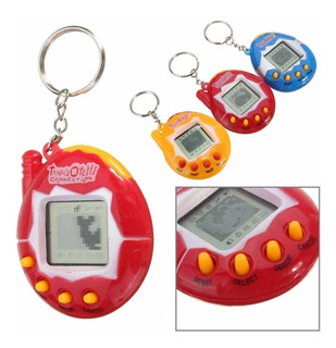 Llavero Tamagotchi Con 49 Mascota Virtual Juguete Tama 90s