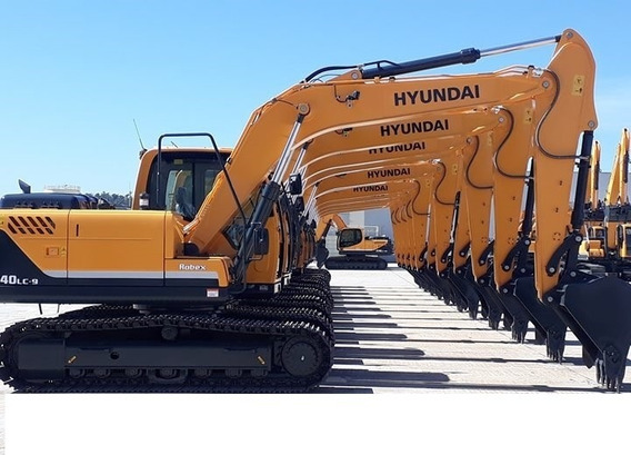 Escavadeira Hyundai R140 Lc Entrada+div 2019 Okm