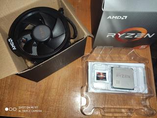 Combo Ryzen 5 3600x + 24 Gb Ddr4 2400mz 1 Mes De Uso Fullbox