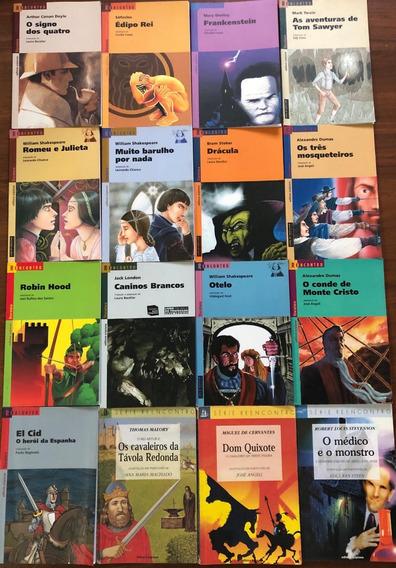 Livros Da Colecao Reencontro (cada Um 30,00 )a Escolher