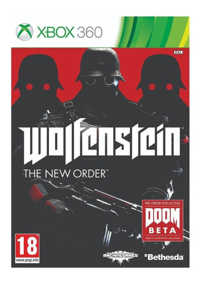 Wolfenstein: The New Order - Xbox 360 - Lacrado