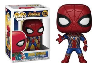 Figura Funko Pop! #287 Iron Spider 100 % Original