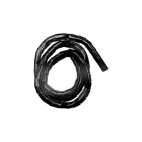 Organizador 20mmx1,5m P/fios/cabos Preto 4398 Bemfixa