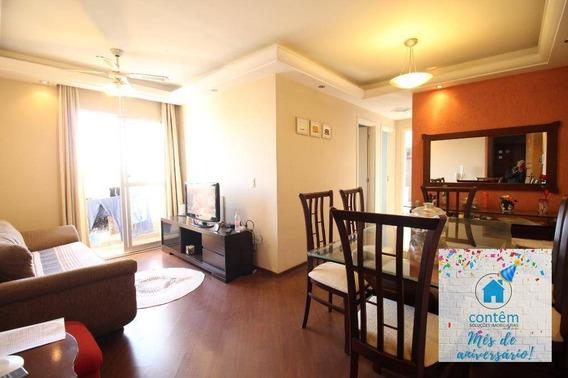 Ap1444- Apartamento Com 2 Dormitórios À Venda, 52 M² Por R$ 250.000 - Cidade Das Flores - Osasco/sp - Ap1444
