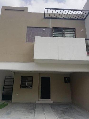 Casa Sola En Renta En Almería, Apodaca, Nuevo León