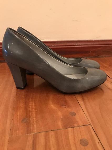 Zapatos Guess Mujer Importados Gris Plomo
