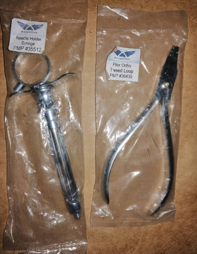 Imagen 1 de 1 de Odontología Needle Plier Syringe Y Plier Ortho Tweed Loop