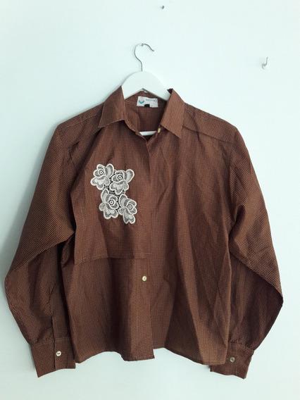 Camisa Vintage Valentino Giancarlo Talle M