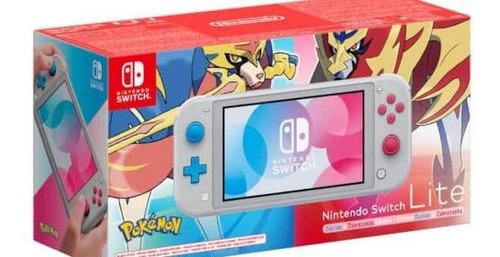Nintendo Switch Lite Zacian & Zamazenta Edition + 128 Gb