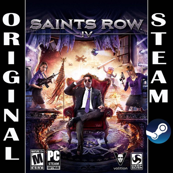Saints Row 4 Iv Steam Pc Original Steam Gift Digital