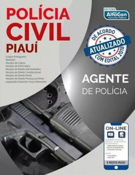 Policia Civil Do Piaui Pc Pi - Agente De Policia