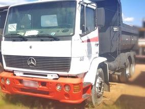 Caminhão Basculante Mercedes-benz 1218 6x2 Caçamba