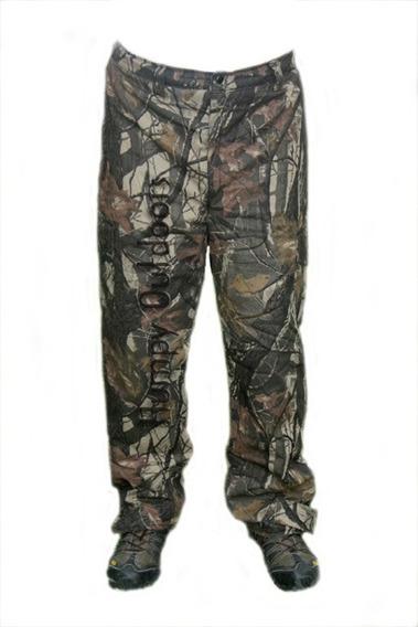 Pantalon Termico Camuflado 3d Real Tree Con Polar