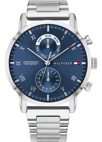 Reloj Tommy Hilfiger Hombre Fondo Azul Multifunción 1710401