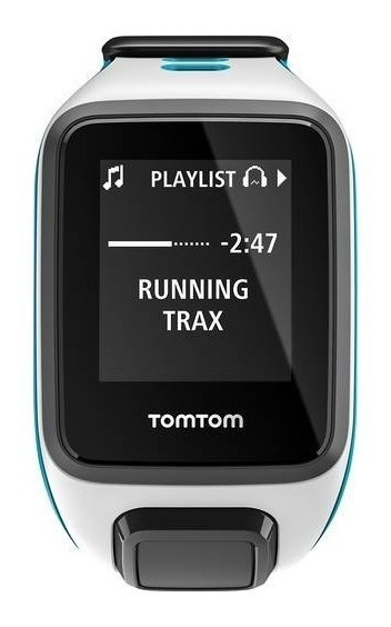 Tomtom - Spark Música Gps Aptitud Del Reloj (pequeño) - Blan