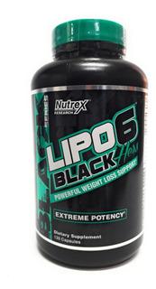 Nutrex Lipo 6 Black Hers 120 Caps Envio Full