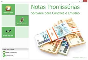 Sistema Emissao De Nota Promissoria - Frete Gratis