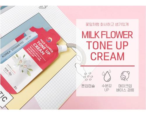 Eyenlip Milk Flower Tone Up Crema Tonificadora