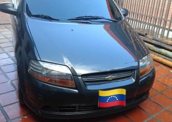 Chevrolet Aveo 1.6v Año 2009 3 Puerta Gris