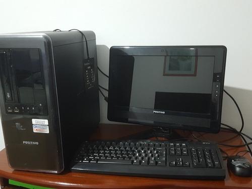 Computador Completo Intel Celeron Cpu E3400 Positivo - Usado