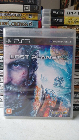 Lost Planet 3 Lacrado Mídia Física Playstation 3