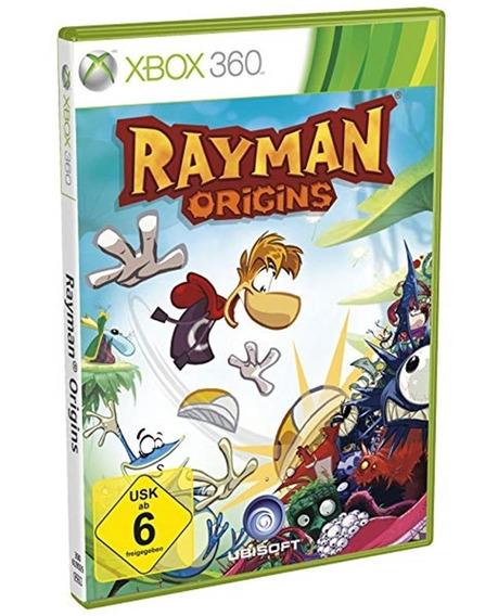 Jogo Rayman Origins Xbox 360 Disco Fisico Novo Português
